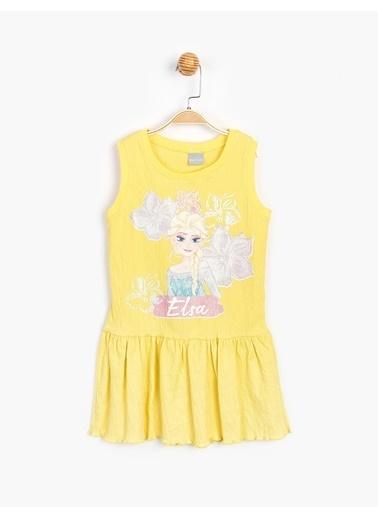 Frozen Elbise Sarı